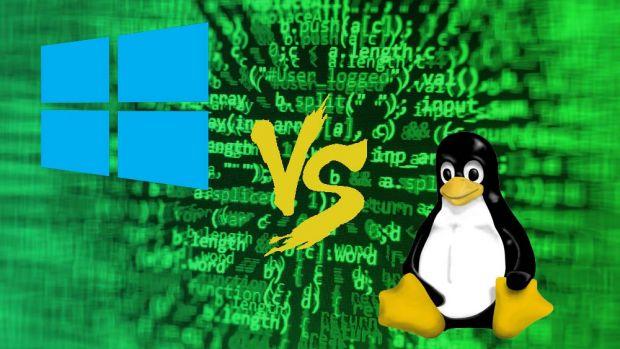 window vs linux
